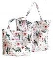 SHOPPER BAG - Tribal woodland