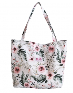 SHOPPER BAG - Watercolor flowers
