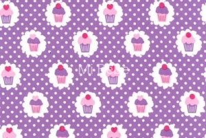 SHOPPER BAG Cotton - Babeczki/Cupcakes