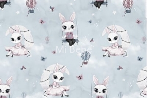 SHOPPER BAG Cotton - Bunny moon